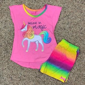 NEW Unicorn 2Piece Set